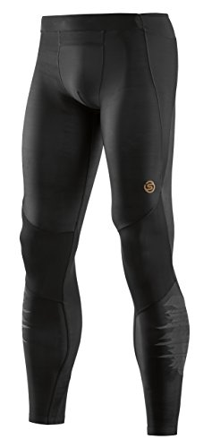 SKINS A400 Mens Long Tights schwarz