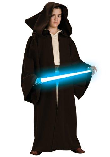 Robe Deluxe Kostüm Jedi Super - Child Super Deluxe Jedi Robe Medium