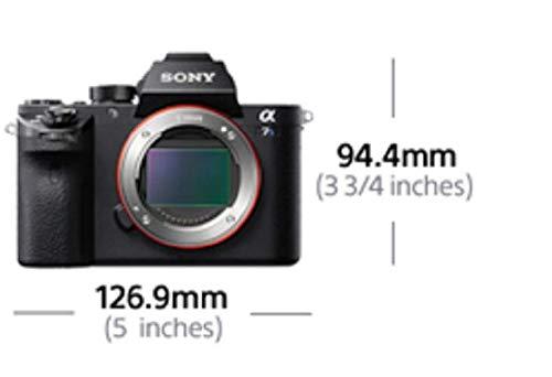 Sony Alpha 7S E-Mount Vollformat Digitalkamera ILCE-7S (12,2 Megapixel, 7,6cm (3 Zoll) LCD Display, Full HD, Unkomprimierter Output via HDMI (4K/Full HD) nur Gehäuse) schwarz