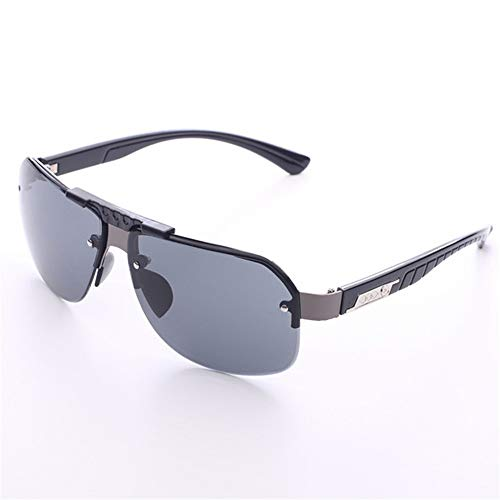 Huangjiahao Fahrradbrille Blockieren Sie Mode-Motorrad-Reitbrille im Freiensport-Schutz-Augen-Sonnenbrille Outdoor-Sporthalter (Farbe : Schwarz, Größe : Free Size)