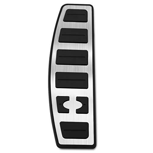 HCDSQSN Edelstahl Gas Kraftstoff Bremspedal Pad Abdeckung Für Land Rover Range Rover Sport 2004-2017 Zubehör Car Styling (Range Zubehör-2004 Rover)