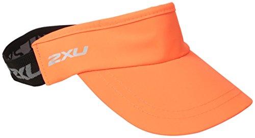 2XU Gesichtsschutzschirm, unisex, Sunburst Orange/Black