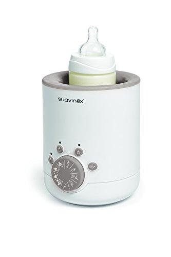 Suavinex 400773 - Calienta biberones Link 3 en 1 (leche materna, fórmula y potitos)