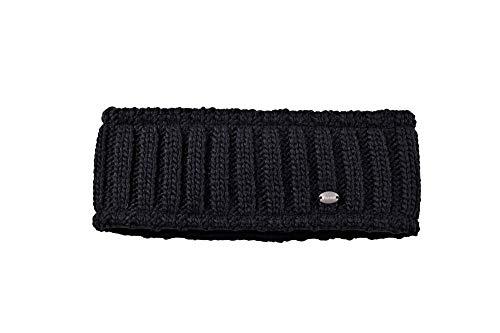 Pikeur Strickstirnband breit Classic Collection Herbst-Winter 2019/2020, Black, 55/57