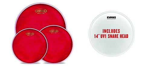 Evans Hydraulic Red. Pack estándar hidráulico rojo