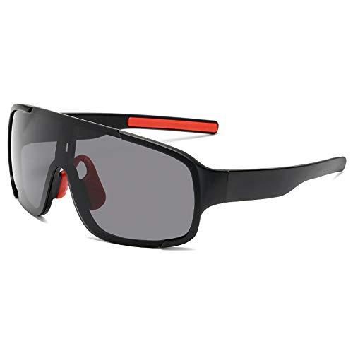 CZSM Fahrrad Radfahren Brille, Outdoor Sports Goggles Sonnenbrillen, zum Skilaufen Angeln Segeln,NO1