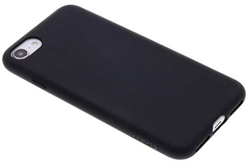 Spigen cover iphone 7, cover iphone 8, flessible cover custodia [liquid crystal] slim protezione e premium chiarezza per iphone 7 - nero opaco