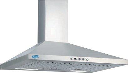 Glen GL 6075 Kitchen Stainless Steel Chimney - 60cm / 1000 m3/hr