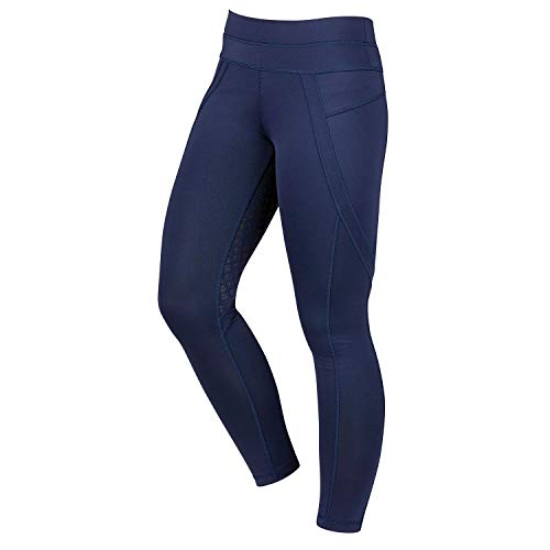 Dublin Performance Active Womens Riding Tights 32 inch Navy -