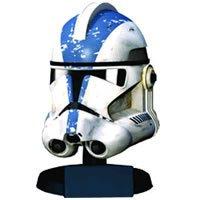 Kostüm Trooper 501st - Star Wars: 501St Legion Clone Trooper Scaled Replica Helmet - 20cm (Figur)