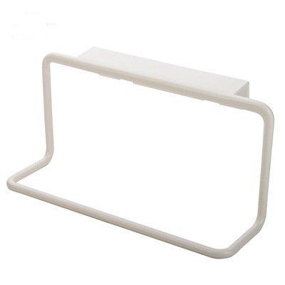 Badezimmer Schrank Handtuch Rack (Da.Wa Handtuch Halter Rack über Tür Rack Bar Hängehalter Badezimmer Küche Schrank Schrank Aufhänger Regal,Weiss)
