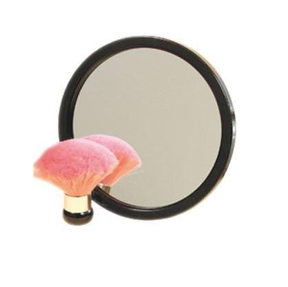 miroir sun avec poignee noir 270 mm
