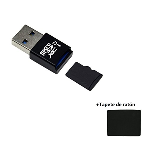 Malloom®MINI 5 Gbps super velocidad USB 3.0 Micro SD / SDXC TF lector