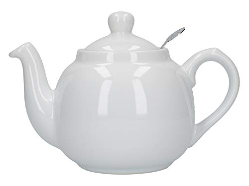 London Pottery 2 Cup Filter Teapot White