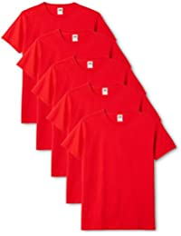Fruit of the Loom Original T. T-Shirt (Pacco da 5) Uomo