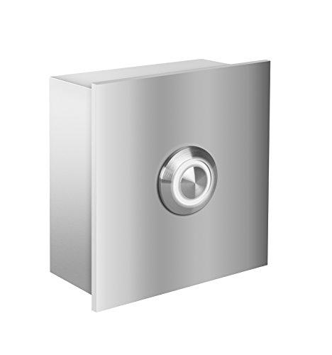 Frabox Design Edelstahl LED Klingelelement NAMUR