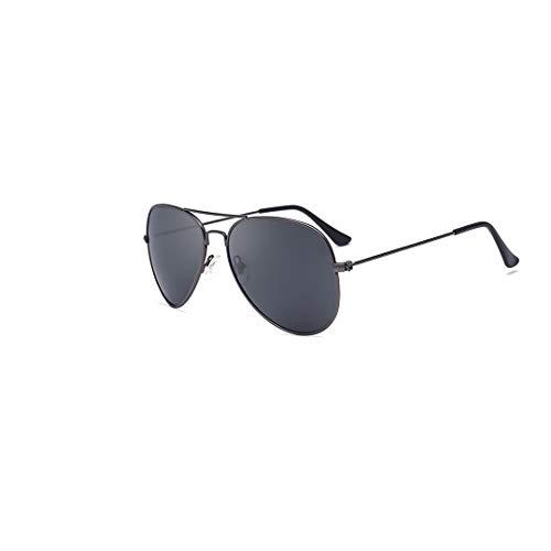 ALEMIN Frau Mann polarisierte Sonnenbrille, 3025 Metall Retro Classic Aviator Sonnenbrille für den Sommer # 4