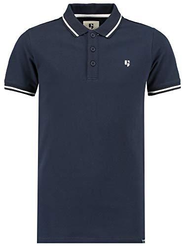 Garcia Jungen Kurzarm Shirt D93614 in Dark Moon, Kleidergröße:164/170, Farbe:dunkelgrau (Dark Moon 292)