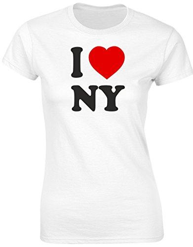 swagwear I Love NY New York Funny Womens T-Shirt 8 Colours b6e2db82879