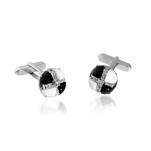 Gioiello Italiano Manschettenknöpfe Diamanten 0.65ct