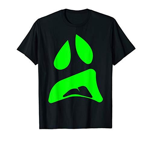 Einfache Paare Kostüm Für Ideen - Big Ghost Face - Einfache Paare Halloween-Kostüm Idee T-Shirt