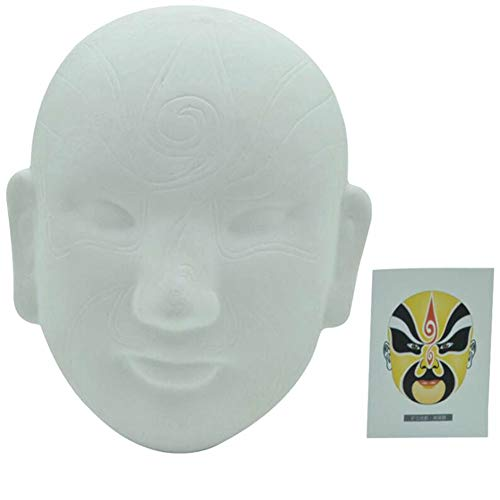 Aida Bz Chinesische Peking Oper DIY Maske, Party Maske Halloween Maske Kostümparty,E