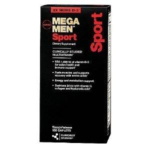 GNC Men's Mega Men Sport Multivitamin, Timed Release Caplets 90