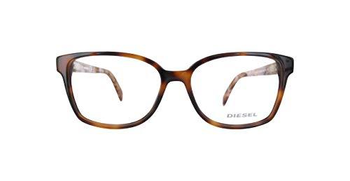 Diesel Damen Dl5210-53-Braun Brillengestelle, Braun, 54
