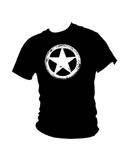 us-army-wwii-military-white-star-retro-mash-mens-vintage-t-shirt-all-sizes-large-black
