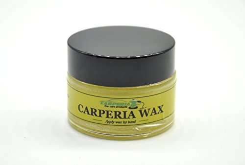 Carperia Fruits Autowachs für Autolack zur Autopflege und Lackversieglung / Carnaubawachs Autowax für Aufbereitung Hartwachs 25ml (Grapefruit)