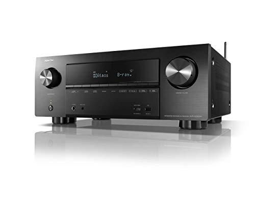 Denon AVR-X2600H 7.2-Kanal AV-Receiver (WiFi, Bluetooth, 4k, HDCP2.2, eARC, AirPlay 2, HEOS, Alexa kompatibel) Video Distribution Amplifier