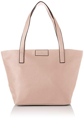 Rose Shopper (TOM TAILOR Shopper Damen Miri Zip, Rot (Rose), 17.5x28x36 cm,Tasche Damen)