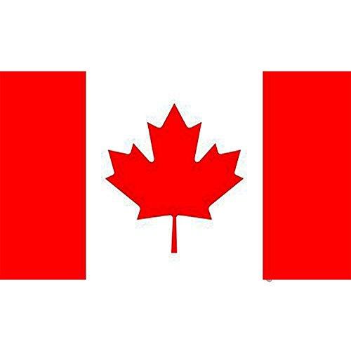 Europa Länder Nationalflaggen Fahne Kanada Flagge Fahne 5ft x 3ft(150*90cm) (3x5 Kanada Flagge)
