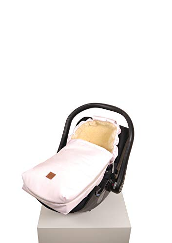 Rosa Rose Denim (Kaiser 6534195 Babyschalen Fußsack Emma, denim rose, rosa)