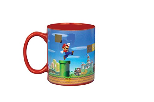 Super Mario calor cambio taza, no aplicable