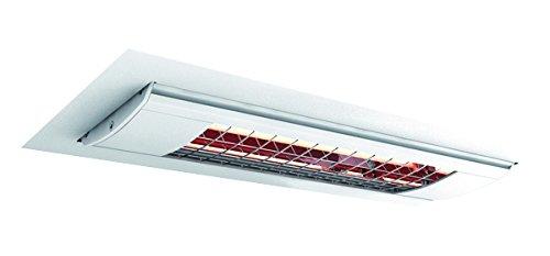 Solamagic Infrarotstrahler SM-500DE-W für Deckeneinbau, 500W, Farbe: Weiß, Maße: 486x214x200mm, Spannung: 230V, Steckerleitung: 40cm
