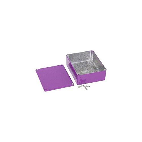 Hammond Electronics Druckgussgehäuse Purple IP54 120X94X42mm