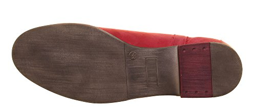 Justin Reece  5800, Bottes Chelsea femme Rouge - Red FA