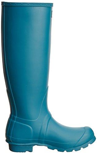 Hunter - Original Tall Wellington Boot, Stivale da donna Blu (Blue  (Bright Peacock))