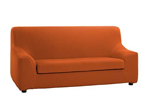 Martina Home Tunez, Copridivano Arancione, Duplex 3 Posti