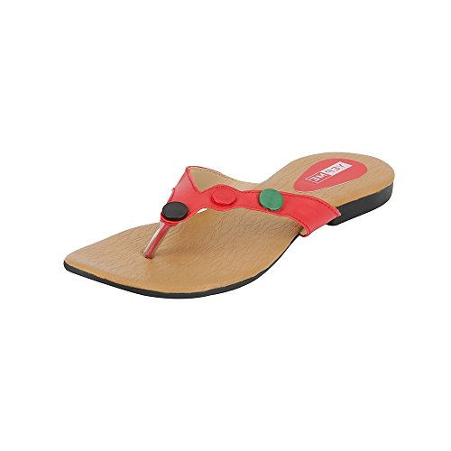 Yepme Women's Red Synthetic Sandal YPWSNDL0106_4  available at amazon for Rs.239