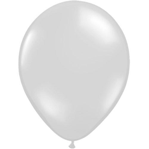 Klar Farbe (10 x Luftballons Ø 30 cm | Freie Farbauswahl | 23 Ballon Farben | partydiscount24® (Klar (Kristall / Durchsichtig)))