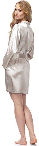 Merry Style Damen Morgenmantel MSFX797 Beige