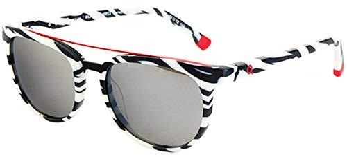 Etnia barcelona occhiali da sole wla africa04 black white/grey unisex