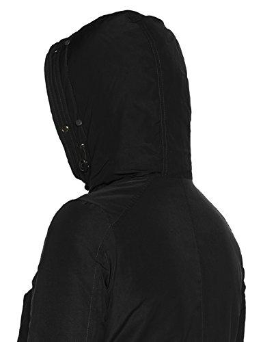 LTB Jeans Damen Jacke Zoheke Coat Schwarz (Black Wash 200)