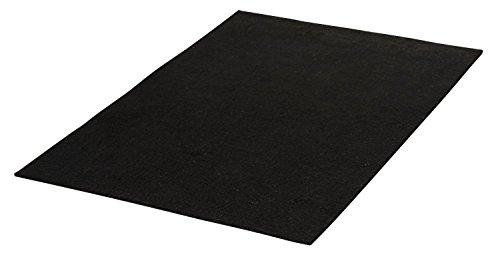 Filzplatte Schwarz VBS 30×20 cm Stärke:1,5 mm Schwarz