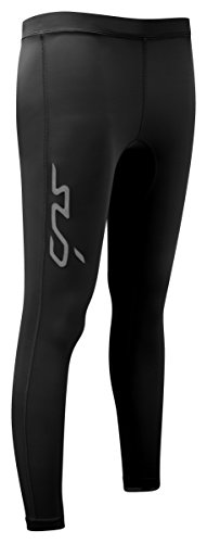 Sub Sports Herren Dual Women'Compression All Season Baselayer Leggings/Hosen schwarz schwarz L