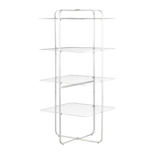Ikea Wäscheständer (IKEA MULIG -Wäscheständer 4 Ebenen weiß)