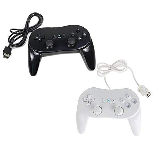 Classic Controller Pro für Nitendo Wii, Schwarz/Weiß