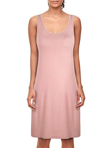 Dylh donna sottoveste con spalline regolabili sottovesti con reggiseno camicie e négligé camicia da notte donna lingerie rosa